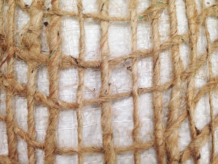 Jute Netting Close Up