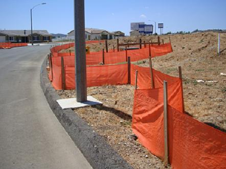 Commercial Grade Silt Fence
