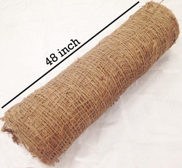 Jute Netting: 48 inches wide
