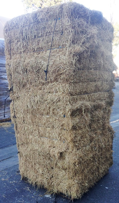 Straw Bale Palletized