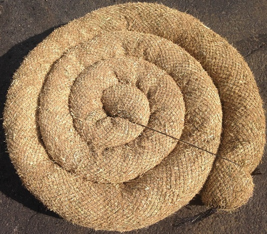 Coiled Straw Wattles